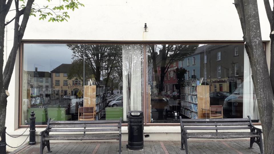we just installed new glass windows in cahir library